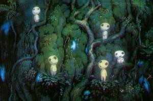 """Princesse Mononoké"", de Hayao Miyazaki"