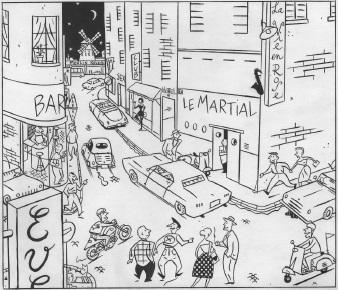© François Avril, «Soirs de Paris», éd. Humanoïdes associés