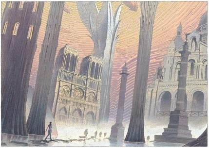 © François Schuiten, «Revoir Paris», éd. Casterman
